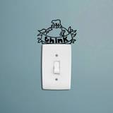 Think Wall Vinilo decorativo por Antoine Tesquier Tedeschi