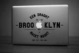 Antoine Tesquier Tedeschi - Brooklyn Laptop Sticker - Laptop Çıkartmaları