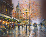 Paris, Saint-Germain-des-Pres Giclee Print by Guy Dessapt