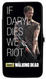 The Walking Dead - If Daryl Dies We Riot Hinged Wallet Wallet
