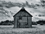 Country Barn Giclee Print by Martin Smith