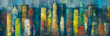 City Towers I Giclee Print by Georges Generali