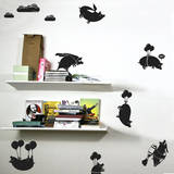 Flying Pigs Sticker Pack Autocollant mural