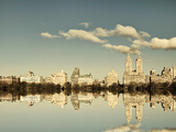 Mirrored City Giclee Print by Irene Suchocki