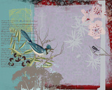 Exotic Fauna II Giclee Print by Ken Hurd