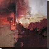 Inferno Leinwand von Fausto Minestrini