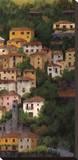 Lago di Como II Stretched Canvas Print by Montserrat Masdeu