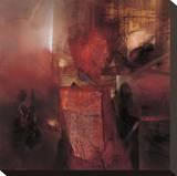Brennendes Herz Leinwand von Fausto Minestrini