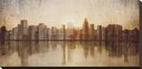 Skyline Stretched Canvas Print by  Amori