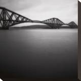 Forth Rail Bridge I Stretched Canvas Print by Jamie Cook