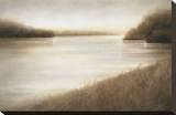 Lost Lagoon Stretched Canvas Print by Gretchen Hess