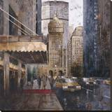 On Park Avenue Stretched Canvas Print by Marti Bofarull