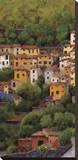 Lago di Como I Stretched Canvas Print by Montserrat Masdeu