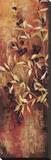 Sienna Berries I Stretched Canvas Print by Elizabeth Jardine