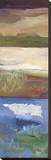 Nantucket Vistas II Stretched Canvas Print by Marlene Lenker