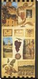 País de vino II Reproducción en lienzo de la lámina por Elizabeth Jardine