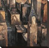 Chrysler Building View Stretched Canvas Print by Marti Bofarull