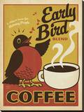 Early Bird Blend Coffee キャンバスプリント :  Anderson Design Group