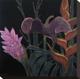 In Bloom I Stretched Canvas Print by Pegge Hopper