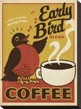 Early Bird Blend Coffee Impressão em tela esticada por  Anderson Design Group
