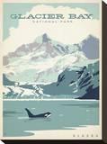 Glacier Bay National Park, Alaska Impressão em tela esticada por  Anderson Design Group