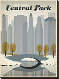 ニューヨーク, セントラル・パーク キャンバスプリント :  Anderson Design Group