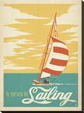 I'd Rather Be Sailing キャンバスプリント :  Anderson Design Group