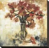 Symphony of Poppies Stretched Canvas Print by Elizabeth Jardine