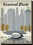 New York Central Park Impressão em tela esticada por  Anderson Design Group