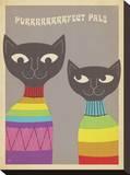 Rainbow Cats Impressão em tela esticada por  Anderson Design Group