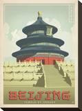 Beijing, China Impressão em tela esticada por  Anderson Design Group