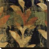 Undersea Violet II Stretched Canvas Print by Elizabeth Jardine