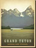 Grand Teton National Park, Wyoming Impressão em tela esticada por  Anderson Design Group