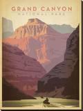 Parque Nacional do Grand Canyon Impressão em tela esticada por  Anderson Design Group
