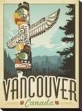 Vancouver, Canada Impressão em tela esticada por  Anderson Design Group