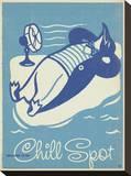 Welcome To My Chill Spot Impressão em tela esticada por  Anderson Design Group