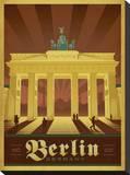 Berlin, Germany Impressão em tela esticada por  Anderson Design Group