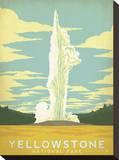 Parque Nacional Yellowstone Impressão em tela esticada por  Anderson Design Group