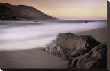 Garrapata Beach Stretched Canvas Print by John Rehner