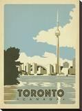 Toronto, Canada Impressão em tela esticada por  Anderson Design Group