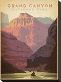 Grand Canyon National Park Stretched Canvas Print by  Anderson Design Group