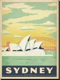Sydney, Australia キャンバスプリント :  Anderson Design Group