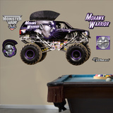 Monster Jam Mohawk Warrior Wall Decal Sticker Kalkomania ścienna