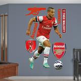 Arsenal Gunners Theo Walcott Wall Decal Sticker Muursticker
