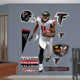 NFL Atlanta Falcons Julio Jones - Away Wall Decal Sticker Wall Decal