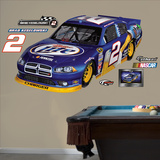 Nascar Brad Keselowski 2012 Car Wall Decal Sticker Vinilo decorativo