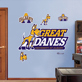 NCAA Albany SUNY Logo Wall Decal Sticker Wall Decal