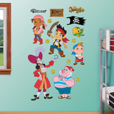 Jake and the Neverland Pirates Collection Wall Decal Sticker Wall Decal