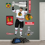 NHL Chicago Blackhawks Patrick Kane 2013 Stanley Cup Wall Decal Sticker Wandtattoo