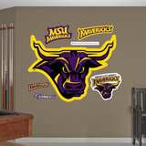 NCAA Minnesota State Mavericks Logo Wall Decal Sticker Wall Decal